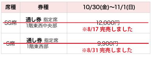 先行販売【8月15日~8月31日発売分】