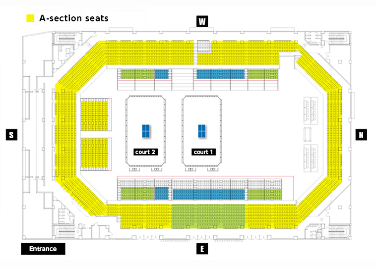 A-section seats
